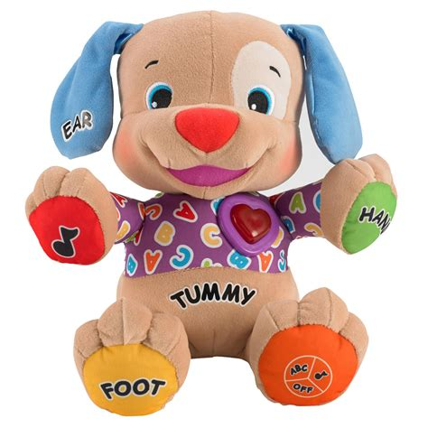 fisher price laugh learn to play puppy fisher price laugh learn to play puppy 163 11 00 hamleys for toys and