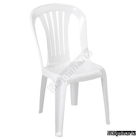sillas plastico silla resina terraza 1r160 monobloc apilable ocupa poco
