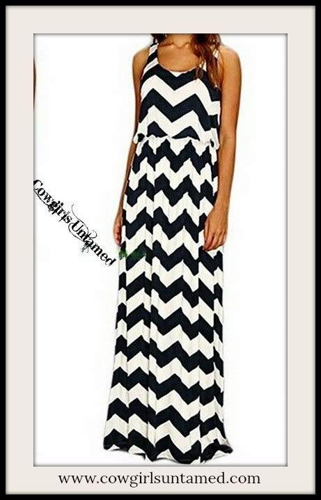 style black and white zig zag chevron sleeveless
