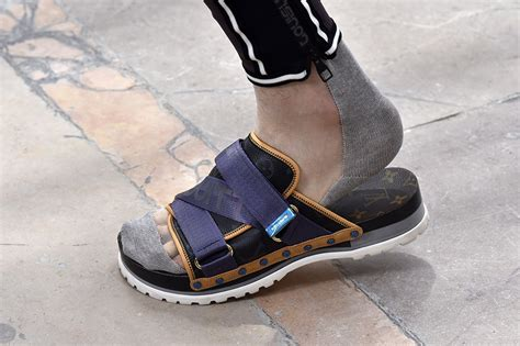 louis vuitton mens sandals the top 5 men s sandal trends for 2018 footwear news