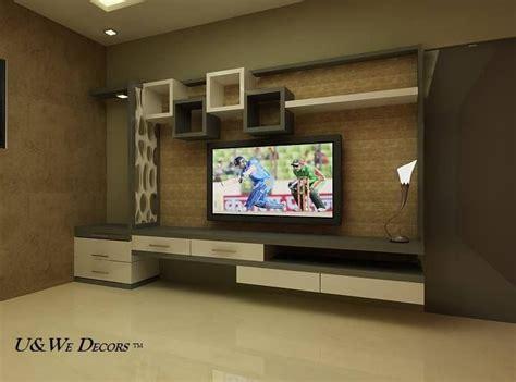 glamorous tv wall units   living room