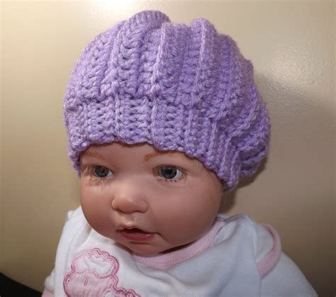 crochet baby hat youtube