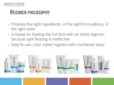 rodan fields dermatologists basic product knowledge http