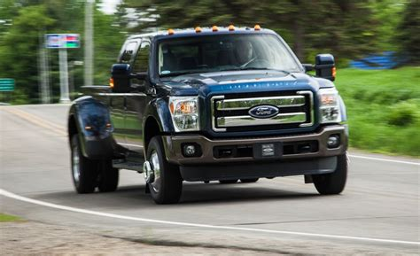 Ford F650 Daten by 2015 Ford F 350 Duty V 8 Diesel 4x4 Test Review