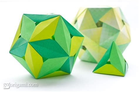 Origami On The Go - origami polyhedra origami paper