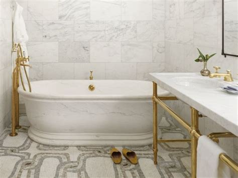 Brass Bathroom gold is a comeback it or leave it