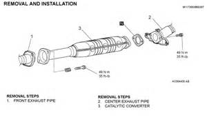 2000 Mitsubishi Galant Exhaust System Diagram Mitsubishi Montero Sport Ls Where Is The Catalytic Converter