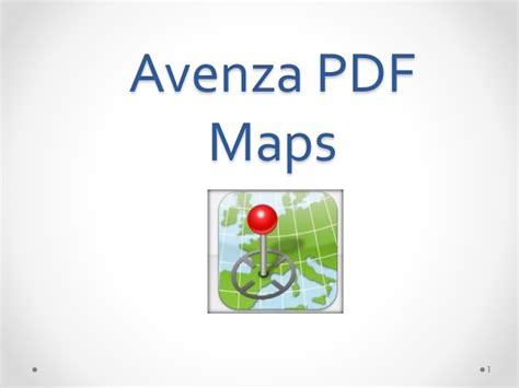 avenza pdf maps basic avenza pdf maps