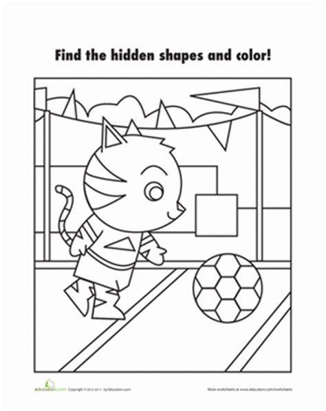 printable hidden shapes pictures find the shapes coloring page education com