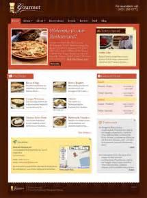 wordpress templates for restaurant website gourmet restaurant wordpress theme