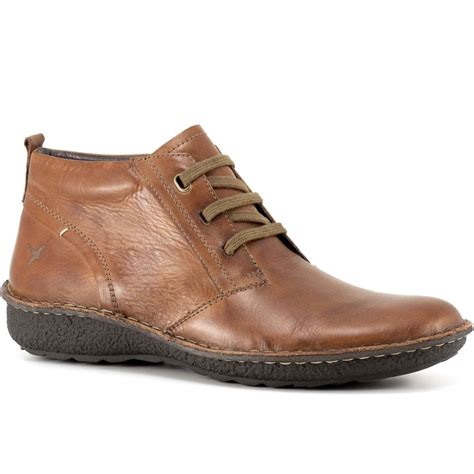 mens leather ankle boots pikolinos chile mens leather ankle boots charles clinkard