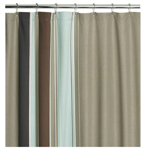 Simple Shower Curtain Design Milk