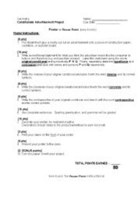 Conditional Statements Worksheet by Teaching Worksheets Conditionals