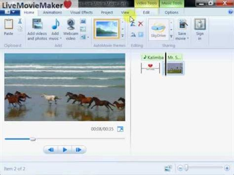 windows movie maker tutorial 1 download windows live movie maker tutorial 1 replace video audio