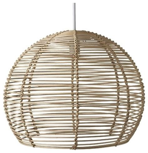 Rattan Pendant Light Rattan Pendant 50cm Freedom Furniture And Homewares Contemporary Pendant Lighting By