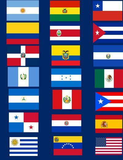 hispanic colors 25 best ideas about flags on
