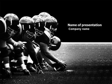 power point themes rugby american football carolina panthers powerpoint template