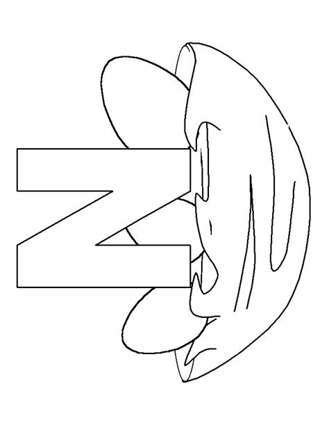 Letter Coloring Pages Coloring Pages To Print N Coloring Pages