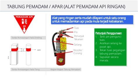 Alat Pemadam Api Ringan Co2 materi safety