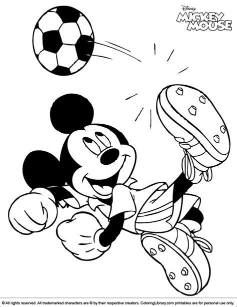 mickey mouse soccer coloring page mickeymouse coloring pages new calendar template site