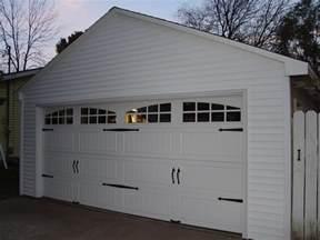 Garage In by 2 Car Garage Doors Neiltortorella