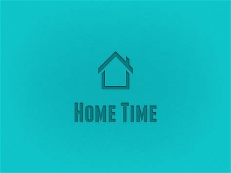dribbble home time by alastair driver