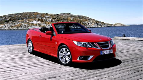 saab convertible red 2008 saab 9 3 aero convertible red sea speed roof