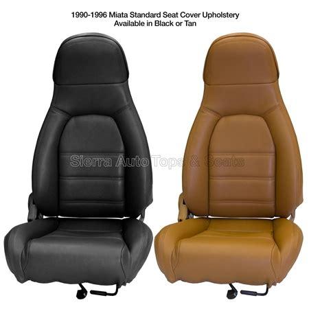 mazda miata front seat cover kit black  tan