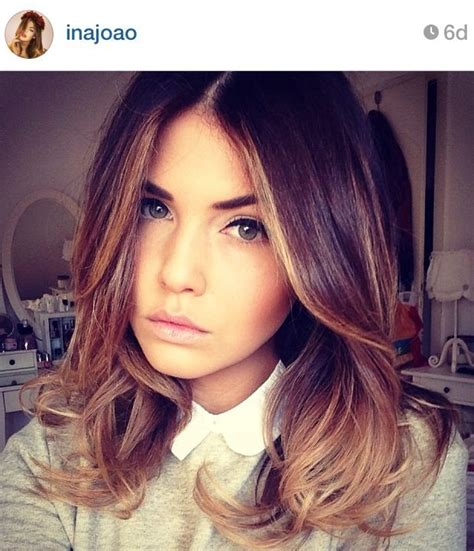 ombre highlights for short bob 70 best balayage hair images on pinterest