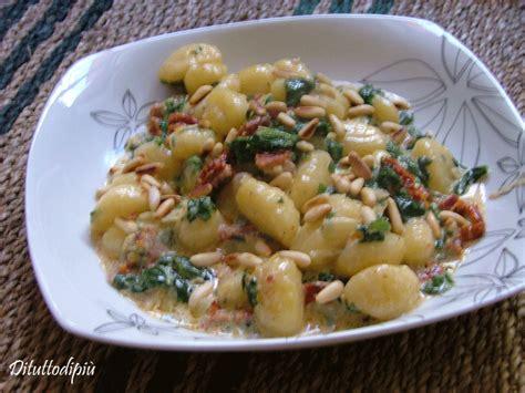 recette n 4 gnocchi sauce aux 233 pinards di tutto di pi 249