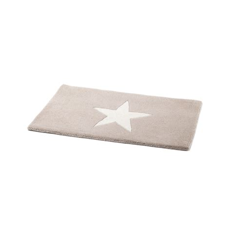 White Mat by Renuka Doormat Beige With White Detail