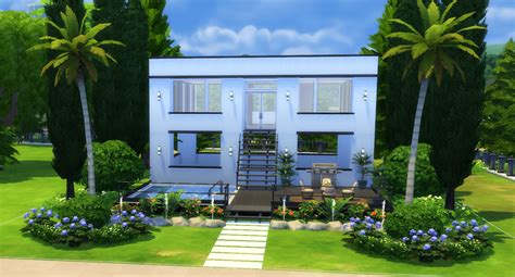 The Sims 4: How to Build a Simple Modern House   Sims