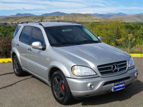 mercedes benz ml55amg 2000 2000 mercedes benz ml55 amg 183 941 miles v i n 4jgab74e0ya219264 stock c460a brilliant