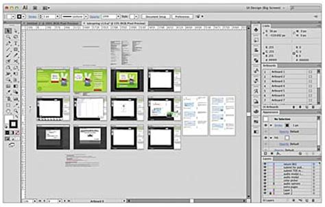 book layout adobe illustrator ui design with adobe illustrator cs6 the illustrator