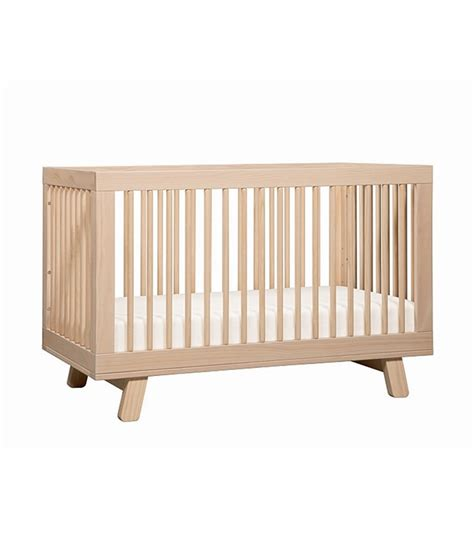 Modern Convertible Crib by Babyletto Hudson 3 In 1 Convertible Crib With Toddler Bed