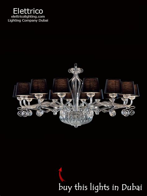 decorative lighting dubai online buy chandelier lillium black online in dubai elettrico