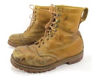 vintage land rover work boots lineman vibram soles size 10 5