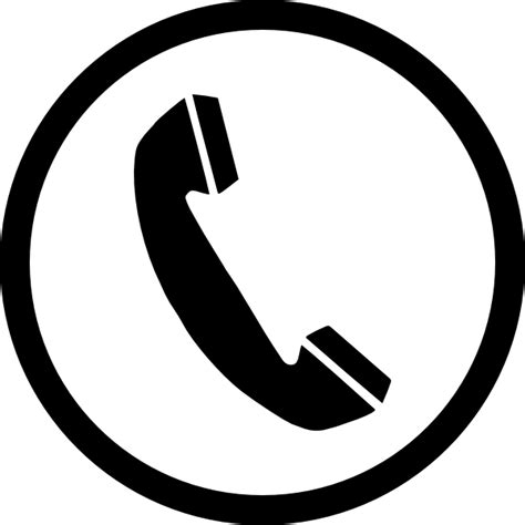 phone icon phone sign clip art at clker com vector clip art online