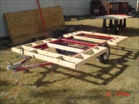 build my house my home built cer trailer week one