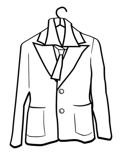 coat for coloring page winter coloring page