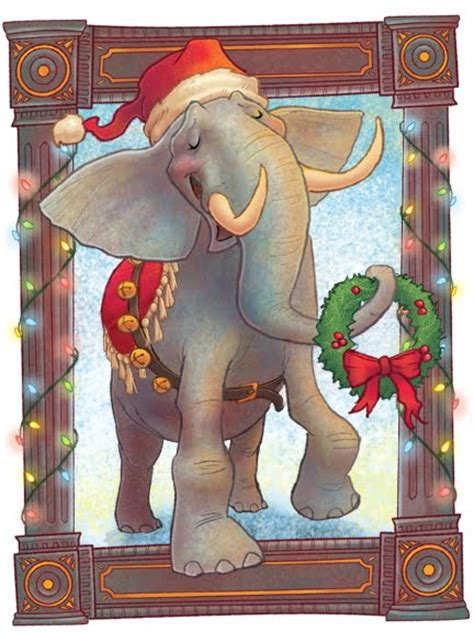 images of christmas elephants jeneart melvin the christmas elephant