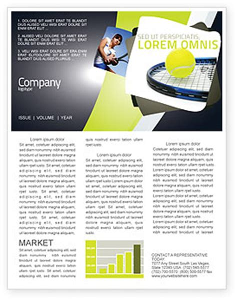 tennis newsletter template for microsoft word adobe