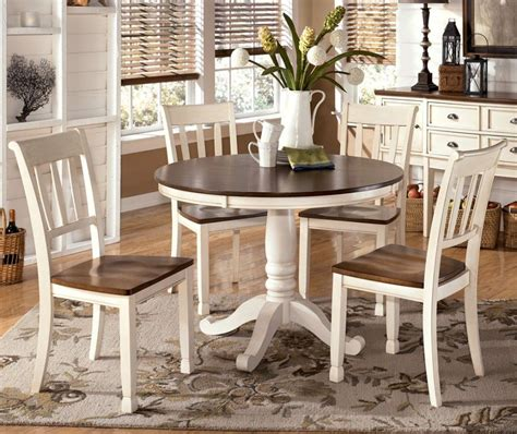 varied round dining table sets and their kinds simple