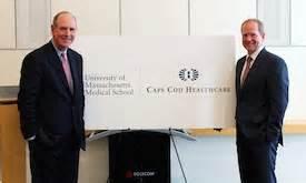umass medical school, cape cod healthcare announce