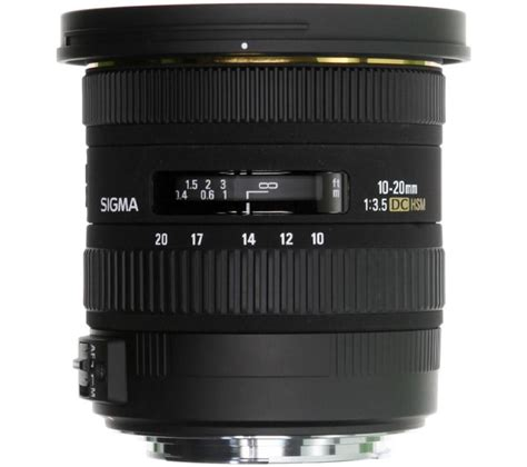 sigma 10 20 mm f 3 5 ex dc hsm wide angle zoom lens for