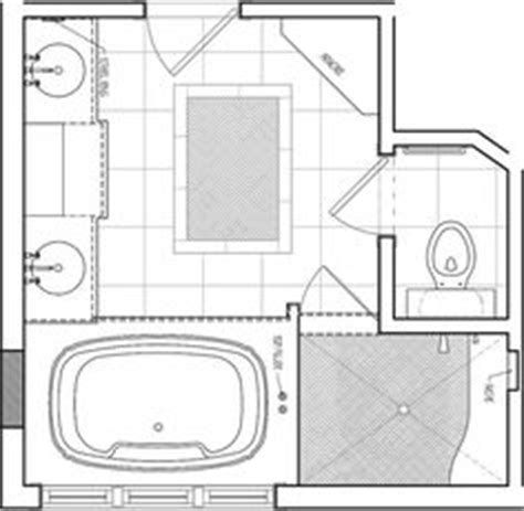 master bath floor plan except i see no need for his her toilets vanities and sinks on pinterest