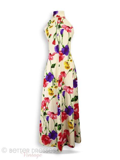 70s floral 70s floral maxi dress better dresses vintage