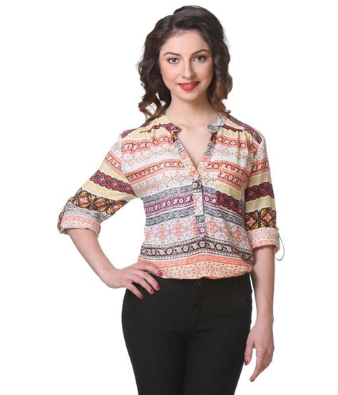 Tunik Rayon 1 buy purys multi color rayon tunics at best prices in india snapdeal