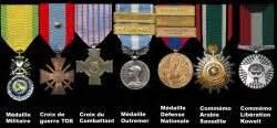 les principales decorations militaires les decorations