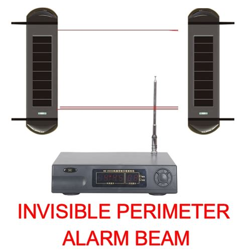 outdoor wireless perimeter alarm system